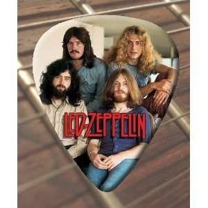 Led Zeppelin Group Pic Guitar Picks x 5 Medium