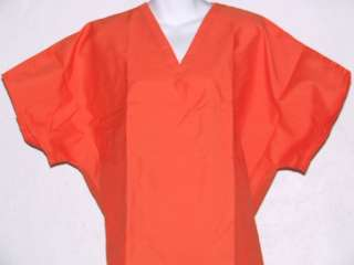 ORANGE Top M MEDIUM Nursing Medical Scrubs NEW