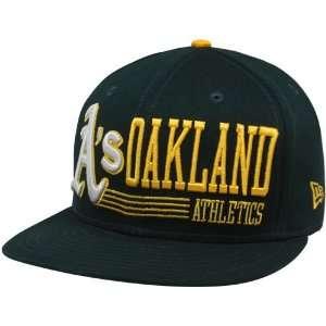 New Era Oakland Athletics Green Retro Look 9FIFTY Snapback