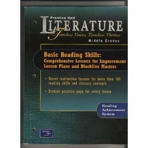Reading Skills: Comprehensive Lessons for Improvement Lesson Plans