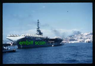 Original Slide, Navy Aircraft Carrier USS Essex (CVA 9), 1959