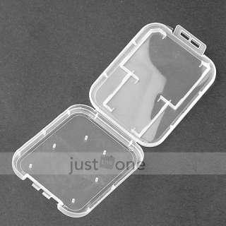 PCS Clear Plastic Memory Card Storage Box Holder Case Shell for Mini