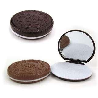 Hot Mini Cute Cocoa Chocolate Mirror & comb & Free Ship