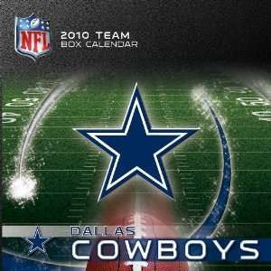 Dallas Cowboys   Box 2010 Box Calendar (9781436029940