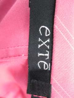 EXTE Pink Long Sleeved Classic Blazer Jacket Size 40
