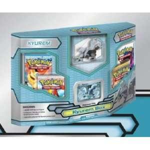 Pokemon Black White Card Game Kyurem Box 4 Booster Packs