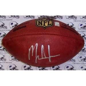 Mark Ingram Signed Ball   Autographed Footballs Sports