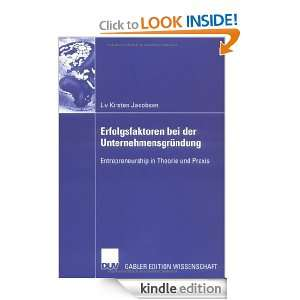 Kirsten Jacobsen, Prof. Dr. Günter Faltin  Kindle Store