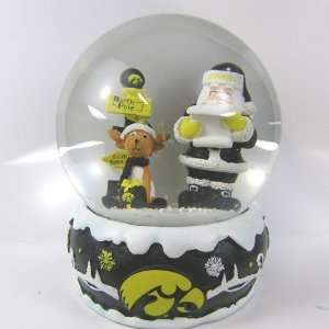 Iowa Hawkeyes 2011 NCAA Holiday Snow Globe