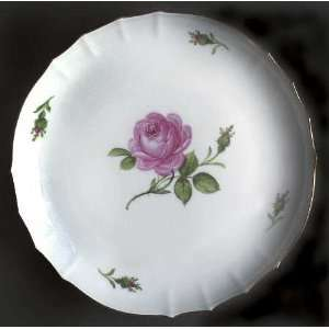 Meissen (Germany) Rose Pink (X Backstamp) Round Shallow