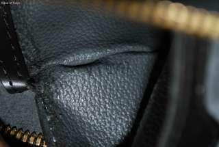Auth LOUIS VUITTON LV Black Epi Mabillon Backpack Bag
