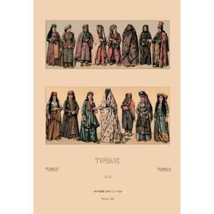 Traditional Turkish Women 24X36 Giclee Paper: Home