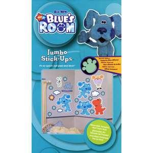 Blues Clues Kids Room Jumbo Wall Decal Reusable Stick Ups