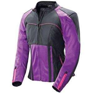 Joe Rocket Womens Radar Jacket   Small/Purple/Black