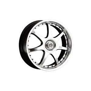 Motegi FF7 17x7 Silver Wheel / Rim 5x100 & 5x4.5 with a 42mm Offset