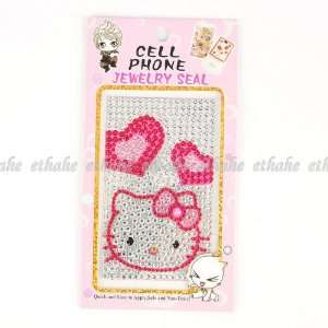 Hello Kitty Mobile Phone Sticker Shining Seal Cell Phones