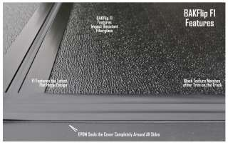 BakFlip F1 Hard Folding Tonneau Bed Cover 08 12 Ford F150 SB 5.5 foot