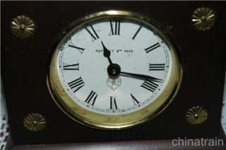 Vintage Antique Horolovar Flying Pendulum Clock Ignatz Jerome & Co