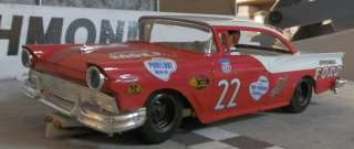 22 Fireball Roberts 1957 FORD 1/24th Scale Custom Built Slot Car