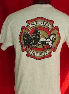 NEMO FIRE DEPARTMENT SOUTH DAKOTA FireFighter SHIRT M