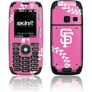 San Francisco Giants Pink Game Ball skin for LG Rumor X260