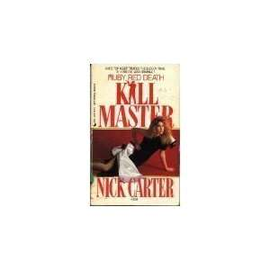 Red Death (Killmaster, No 259) (9780515102741) Nick Carter Books