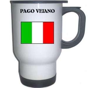 Italy (Italia)   PAGO VEIANO White Stainless Steel Mug