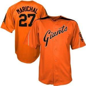 Majestic San Francisco Giants #27 Juan Marichal Orange