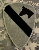 MULTICAM ACU PATCH VELCRO OIF OEF 1ST CAVALRY DIVISION