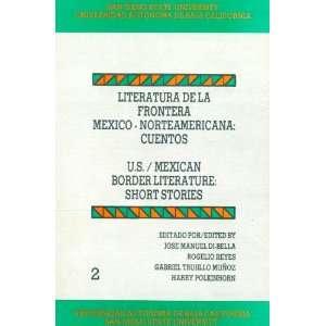 Literatura de la frontera méxico norteamericana Cuentos