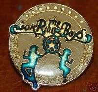 Oak Ridge Boys Band Vintage Lapel Pin Enamel Country