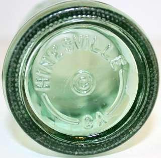 Vintage Coca Cola Embossed Hobbleskirt Soda Bottle Hinesville, GA