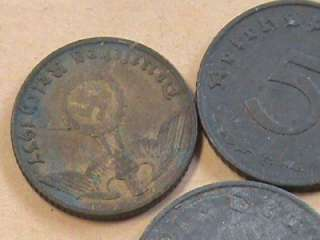 WW2 U.S. Army Military Patches Pins Bring Backs German Coins