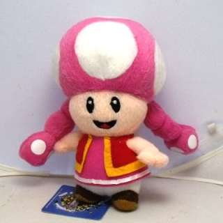 Product Name  New Nintendo Super Mario Toadette Plush doll Figure