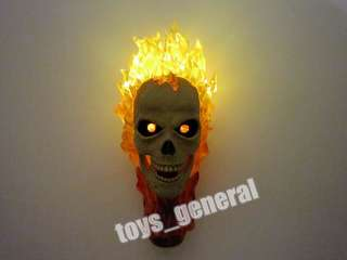 HOT TOYS GHOST RIDER 1/6 SKULL HEAD SCULPT JOHNNY BLAZE