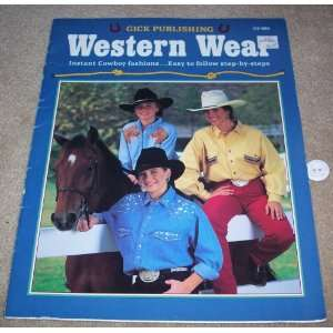 Gick Publishing WESTERN WEAR   GP 550: Gick Publishing