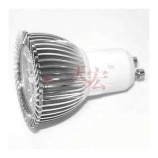 12V Gu10/220V E27/220V 3x2W Led Light Warm Cool White Light Bulb Lamp