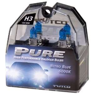Putco Nitro Blue H8 Type Pure Halogen Premium Lighting Replacement