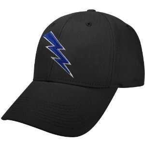 Nike Air Force Falcons Black Swoosh Flex Fit Hat Sports