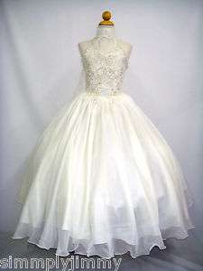 New Girl National Glitz Pageant Wedding Formal Dress size 5 6 7 8 10
