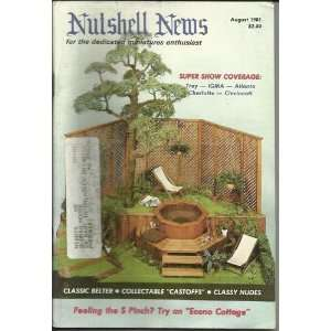 Nutshell News August 1981: Nutshell News, Blue Room Pp: Books