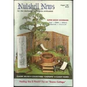 Nutshell News August 1981: Nutshell News, Blue Room Pp: Books