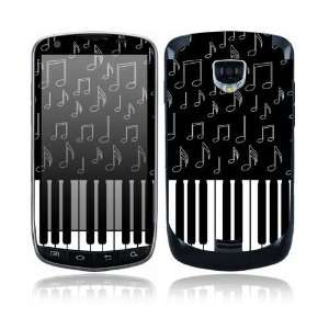 I Love Piano Design Protective Skin Decal Sticker for