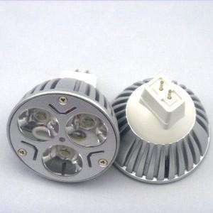 10x NEW 9W 3X3W 12V MR16 LED Warm Cool White Dimmable Cree Lamp Bulb