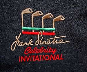 KENNY ROGERS FRANK SINATRA Invitational Golf Travel Bag