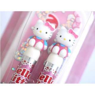 Hello Kitty Doll Spoon & Fork Set W Case