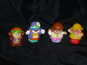 Fisher Price Little People Circus Lot Clown Monkey Mom
