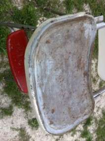 Vintage Baby Metal Cosco Highchair High Chair