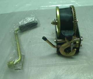1200 LB. CAPACITY HAND WINCH WITH HIGH QUALITY STEEL