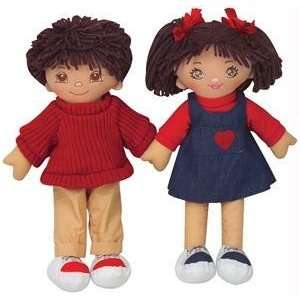Multicultural Hispanic Girl Rag Doll Toys & Games